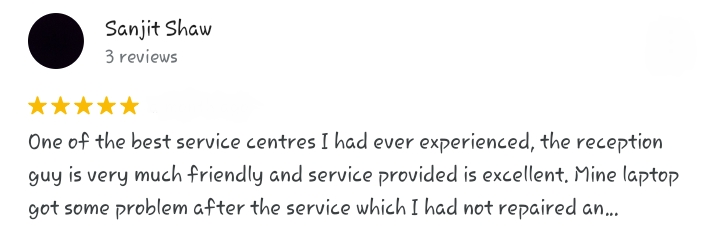 our electronic city service center customer review on google